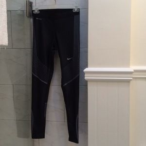 NWT Women's Nike Power XS Dri-Fit Running Leggings